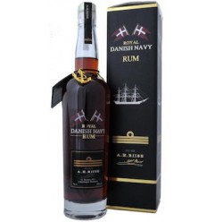 A. H. Riise Royal Danish Navy Rum 40% 70cl