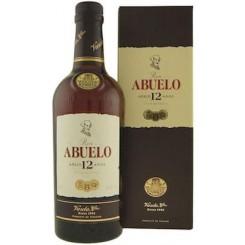 Abuelo 12 Gran Reserva. Rum 12 år 40% 70c