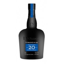Dictador, Solera System Rum Aged 20 Years 40% 70cl