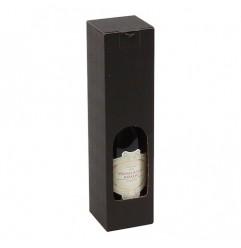 Gavekarton til 1 flaske, sort