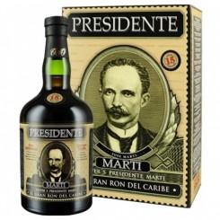 Presidente El Gran Ron del Caribe 15 år 40% 70cl
