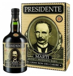 Presidente El Gran Ron del Caribe 23 år 40% 70cl,