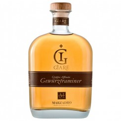 Marzadro Giare Grappa Affinata Gewürztraminer - 41% 70 cl.