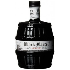A.H Riise Black Barrel Spiced Navy Rum 70 cl. 40%