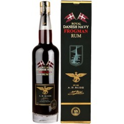 A.H. Riise Frogman Royal Danish Rum 58% 70cl