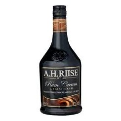 A.H. Riise Rum Caramel Cream Liqueur, With Rum & Sea Salt, 17% 70cl