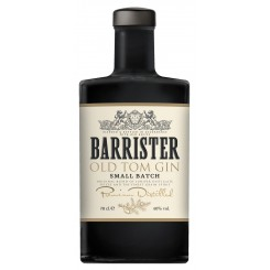 Barrister Old Tom Gin - 40% 70 cl.