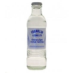 Franklin & Sons Light Tonic Water 20 cl.