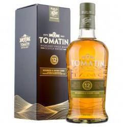 Tomatin 12 år Single Highland Malt Scotch Whisky 43% 70cl