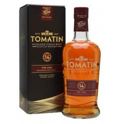 Tomatin 14 år Single Highland Malt Scotch Whisky Old port finish 46% 70cl